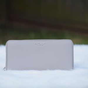Kate Spade Cameron Large continental wallet Grey